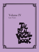 The Real Vocal Book - Volume IV: Low Voice