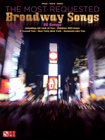 The Most Requested Broadway Songs
