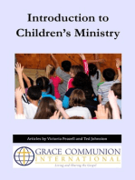 Introduction to Children's Ministry