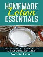 Homemade Lotion Essentials
