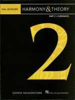 Hal Leonard Harmony & Theory - Part 2