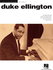 Duke Ellington: Jazz Piano Solos Series Volume 9