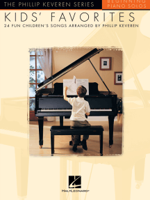 Kids' Favorites: arr. Phillip Keveren The Phillip Keveren Series Beg. Piano Solos