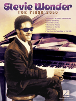 Stevie Wonder for Piano Solo