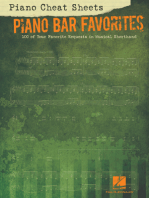Piano Cheat Sheets