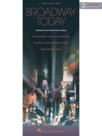 Broadway Today - All-New 2nd Edition: 48 Songs from 26 Hit Musicals