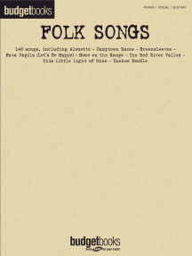 Folk Songs: Budget Books