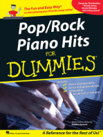 Pop/Rock Piano Hits for Dummies: A Reference for the Rest of Us!