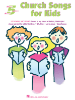 Church Songs for Kids: Five-Finger Piano