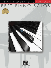 Best Piano Solos: arr. Phillip Keveren The Phillip Keveren Series Piano Solo