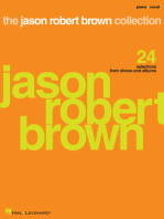 The Jason Robert Brown Collection: 24 Selections from Shows and Albums