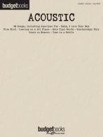 Acoustic: Budget Books