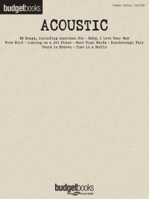 Acoustic: Budget Books