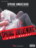 Spring Awakening: A New Musical (Vocal Selections)