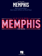 Memphis: Piano/Vocal Selections (Melody in the Piano Part)