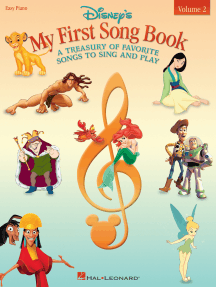 Disney's My First Songbook - Volume 2: A Treasury of Favorite Songs to Sing and Play