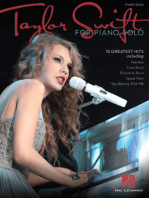 Taylor Swift for Piano Solo - 2nd Edition