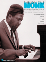 Thelonious Monk - Intermediate Piano Solos