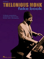 Thelonious Monk Fake Book: C Edition