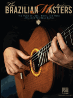The Brazilian Masters - 2nd Edition: The Music of Jobim, Bonfá and More for Solo Guitar