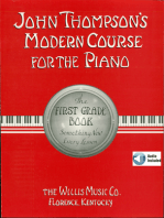 John Thompson's Modern Course for the Piano - First Grade (Book/Audio)
