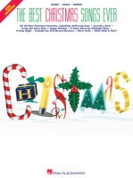 Best Christmas Songs Ever - 5th Edition: E-Z Play Today Volume 215