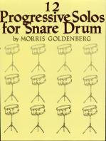 Twelve Progressive Solos for Snare Drum
