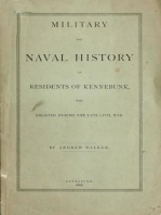 Military and Naval History of Residents of Kennebunk, Maine who Enlisted During the late Civil War