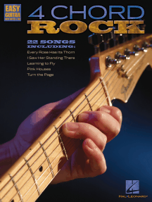 4 Chord Rock: Easy Guitar with Notes & Tab