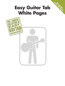 Easy Guitar Tab White Pages (Songbook)