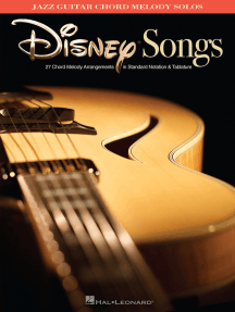 Disney Songs: Jazz Guitar Chord Melody Solos