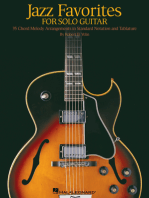 Jazz Favorites for Solo Guitar