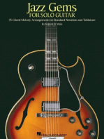 Jazz Gems for Solo Guitar: 35 Chord Melody Arrangements in Standard Notation and Tablature