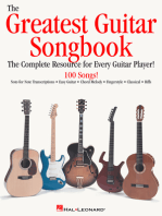 The Greatest Guitar Songbook