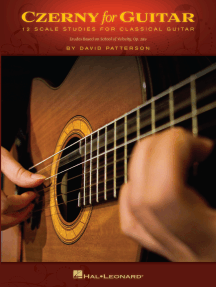 Czerny for Guitar: 12 Scale Studies for Classical Guitar