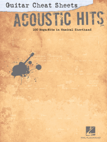Guitar Cheat Sheets: Acoustic Hits (Songbook)