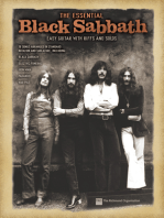 The Essential Black Sabbath: Easy Guitar with Riffs and Solos