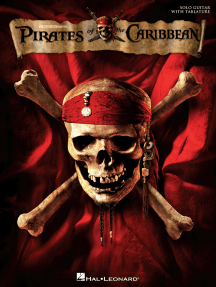 Pirates of the Caribbean: Solo Guitar with Tablature