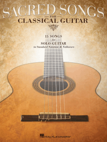 Sacred Songs for Classical Guitar: Standard Notation & Tab