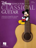 Disney Songs for Classical Guitar