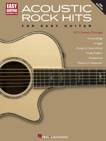 Acoustic Rock Hits for Easy Guitar - 2nd Edition
