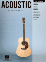 Acoustic: Easy Guitar with Notes & Tab