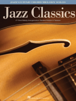 Jazz Classics: Jazz Guitar Chord Melody Solos
