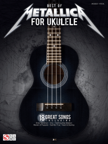 Best of Metallica for Ukulele: Ukulele/Vocal with Tab