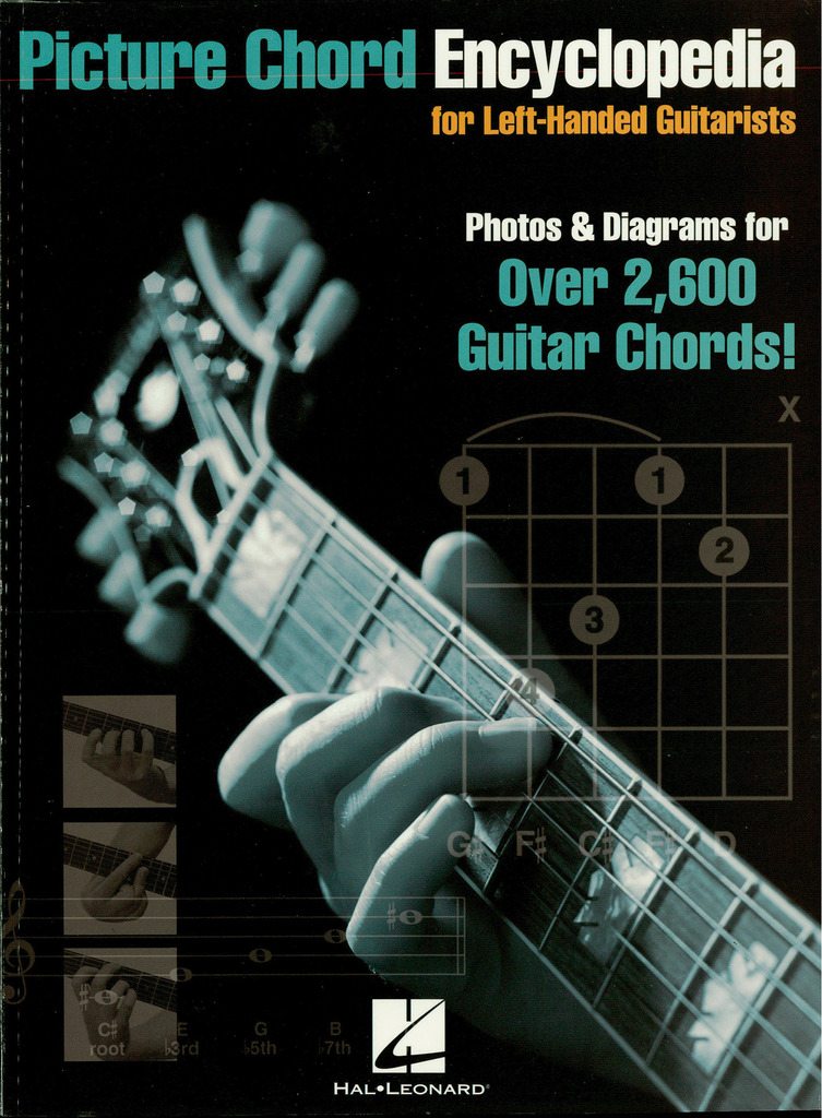 Picture Chord Encyclopedia For Left-handed Guitarists - Sheet Music
