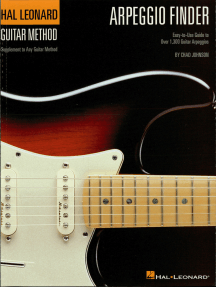 Arpeggio Finder: Easy-to-Use Guide to Over 1,300 Guitar Arpeggios Hal Leonard Guitar Method