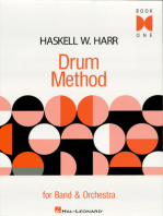 Haskell W. Harr Drum Method: For Band and Orchestra Book One