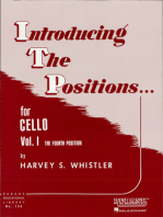 Introducing the Positions for Cello: Volume 1 - Fourth Position