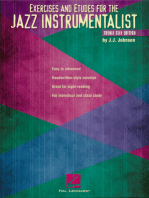 Exercises and Etudes for the Jazz Instrumentalist