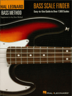Bass Scale Finder: Easy-to-Use Guide to Over 1,300 Scales 6 inch. x 9 inch. Edition